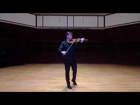 Heinrich Ignaz Franz Biber: Passacaglia; Robert Hunt Simonds, Violin
