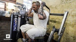 Hamstrings, Lower Back, & Abs Workout   Day 53   Kris Gethin's 8-Week Hardcore Training Program