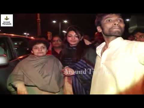 Heroine Kajal Aggarwal Family Visit Tirumala Temple Exclusive Video    Celebrities Visit Tirumala