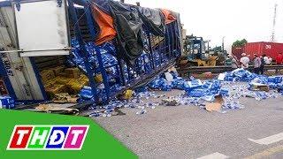 Đứng xem tai nạn giao thông, nhiều người bị ô tô tải lật đè tử vong | THDT