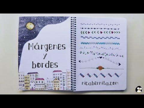 Márgenes Para Cuadernos Y Bordes Para Cartas Nuevas Ideas