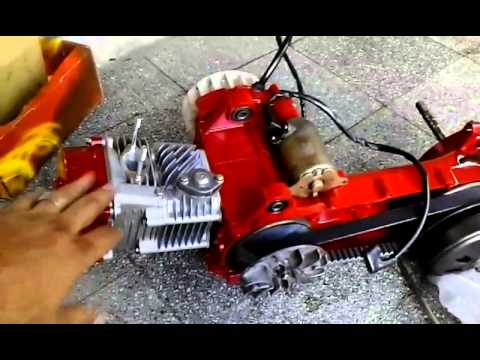 Gy6 racing scooter motor  YouTube