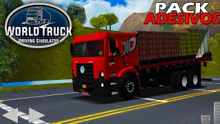 Pack Com TODAS AS SKINS Do World Truck Driving Simulator (DOWNLOAD)
