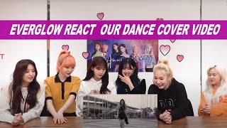 Download lagu EVERGLOW (에버글로우) REACT WORLWIDE WINNER DUN DUN DANCE COVER CONTEST INVASION GIRLS