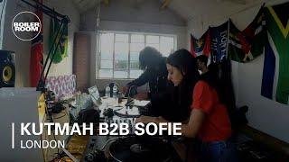 Kutmah b2b Sofie feat. Jeremiah Jae Boiler Room London