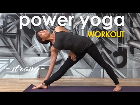Power Yoga Workout - Simple, Strong Cardio Flow ♆