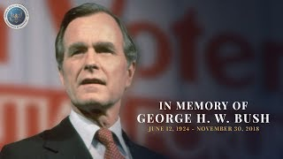 In memory of president george h. w. bush