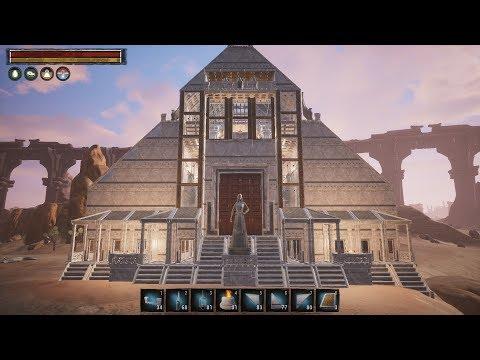 Conan Exiles Jewel of the West - Monastery (Speed Build) |