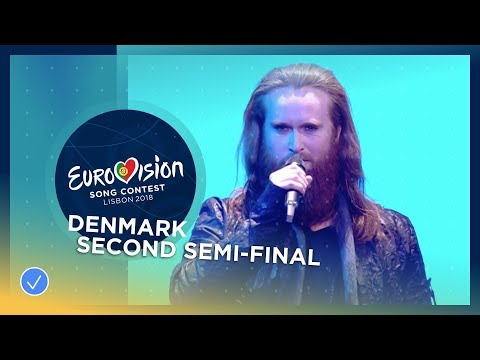 Rasmussen - Higher Ground - Denmark - LIVE - Second Semi-Final - Eurovision 2018