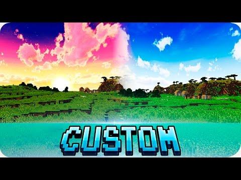 Minecraft - TOP 3 Best Custom Sky Texture Packs (1.12 / 1.11 Compatible)