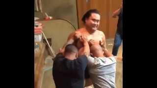 Video 2 UFC fighters pushin a Sumo guy download MP3, 3GP, MP4, WEBM, AVI, FLV November 2017