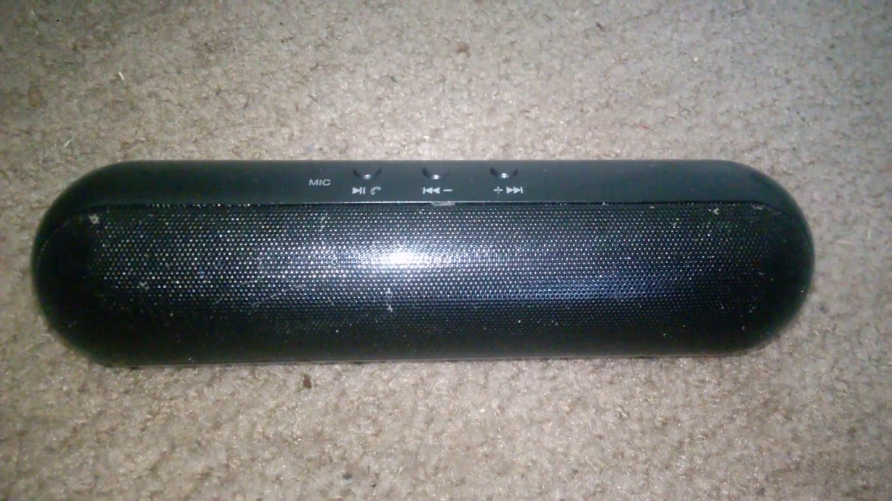 Vibe DG-10 Pill Bluetooth speaker sound test - YouTube