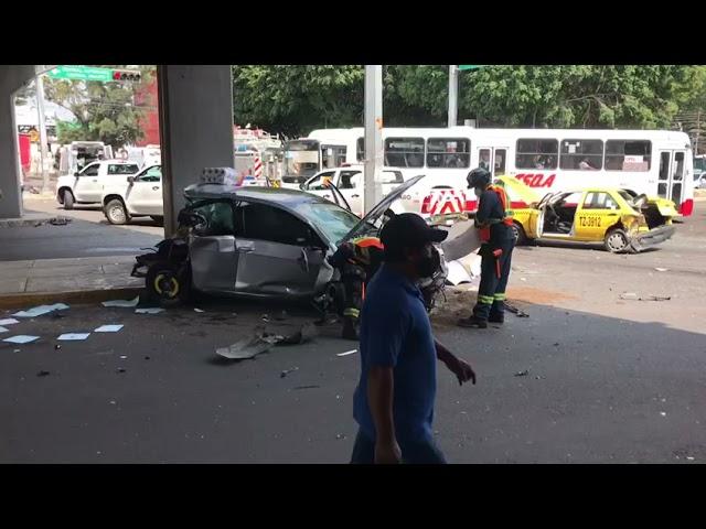 Aspectos del fatal accidente en lateral de 5 de Febrero