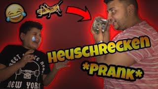 RIESEN HEUSCHRECKEN *PRANK* an kleinen Bruder *GEHT SCHIEF* (er weint..) | Can Wick