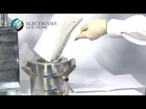 Lithium-Ion Battery Electrode Slurry Mixer Operational Video