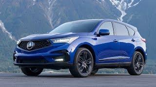 2019 Acura RDX A-Spec - Driving, Interior & Exterior   Apex Blue Pearl