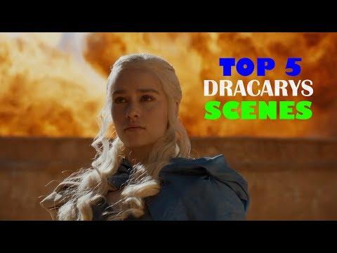 """TOP 5 """"DRACARYS"""" scenes by Daenerys Targaryen"""