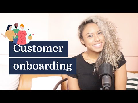Customer onboarding for digital products