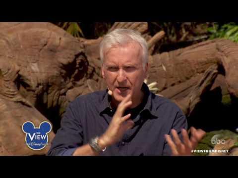 James Cameron Talks Disney World's Pandora, Age-old Titanic Question   The View