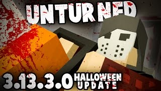 Unturned 3.13.3.0: HALLOWEEN UPDATE (Spooky PEI, TONS of NEW COSMETICS)