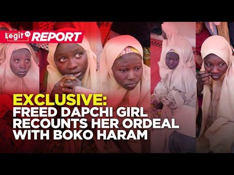 Exclusive: Freed Dapchi Girl Recounts Her Ordeal with Boko Haram (Nigeria Breaking News) Legit TV thumbnail