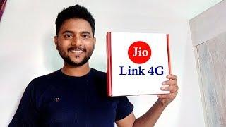 What Is Jio Link 4G Internet?   Jio Link Internet Plans !