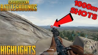 PUBG Highlights #1 - Unbelievable 1000m Shots (PlayerUnknown