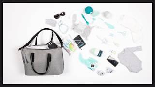Video: Babymoov Le Champs Elysees Diaper Bag