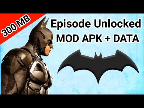Batman The Telltale Series Highly Compressed For Android (All Episode Unlocked)