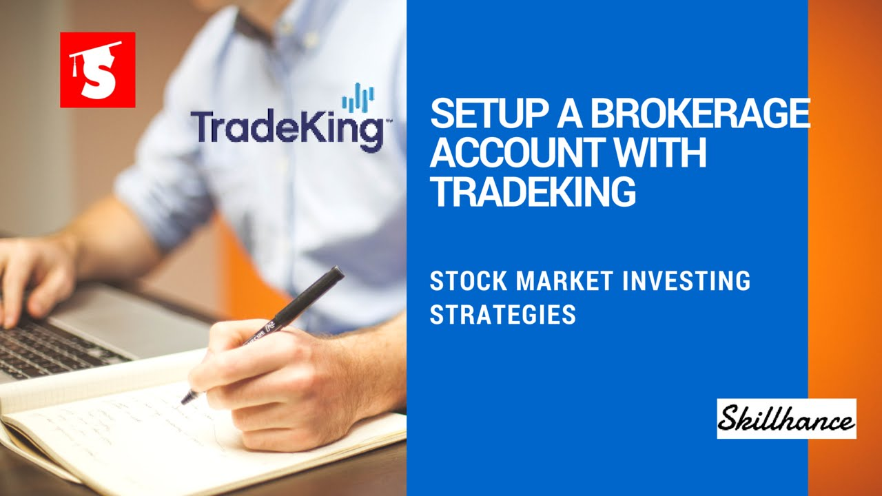 Setup a brokerage account with tradeking youtube setup a brokerage account with tradeking ccuart Image collections