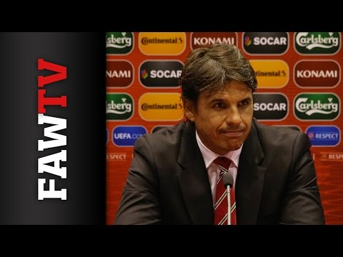 Chris Coleman reacts to win in Andorra