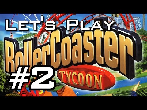 Let's Play Roller Coaster Tycoon - Episode 2 - HEDGES EVERYWHERE
