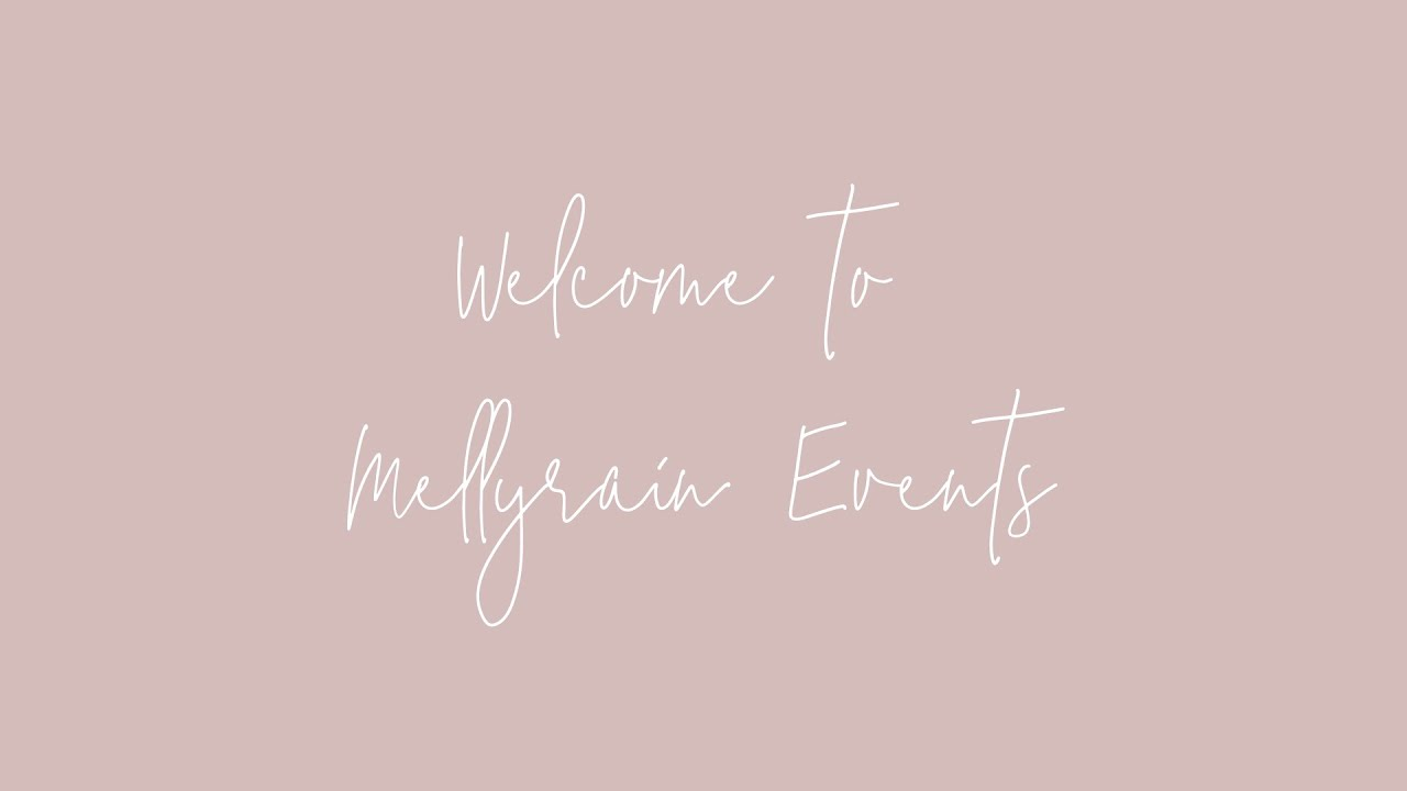Mellyrain Events + Prop Hire