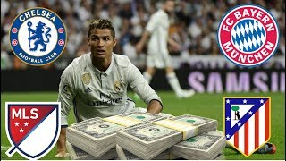 ❌ RONALDO SET TO LEAVE REAL MADRID? | TRANSFER NEWS