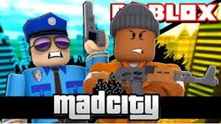 MAD CITY-ROBLOX/LEARNING TO PLAY #SABRINA