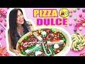 RETO PIZZA DULCE! Con Caramelos, Chocolate, Algodon de Azucar y MAS! OMG - SandraCiresArt