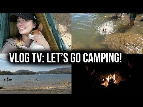 VLOG TV: Let's go camping! | 我們去露營啦:欸嚕游泳了!!!