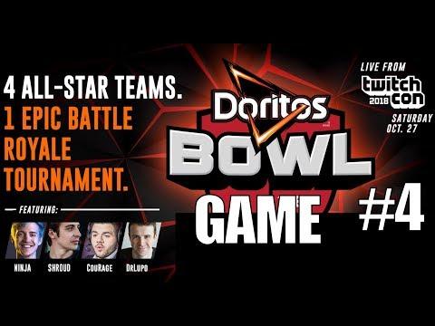 Team Shroud/Ninja/Lupo/Courage HEAT #4 ▪  ▎$250,000 BO4 Doritos Bowl Tournament ▎
