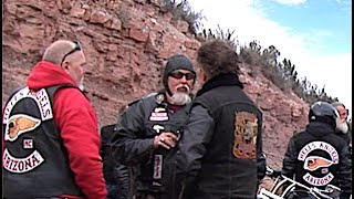 HELLS ANGELS  Make Challenge  To Guest Riders