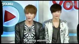 [Eng Sub][Full] 120412 EXO-M Youku Celebrity Interview