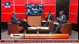 Benue Killings: Dare Suggests Military Formation Setup,Community Policing To Stem Menace Pt.4