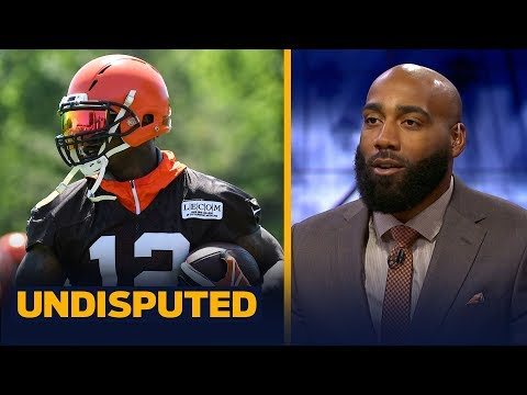 DeAngelo Hall joins Skip and Shannon to talk Patriots, Josh Gordon trade   NFL   UNDISPUTED