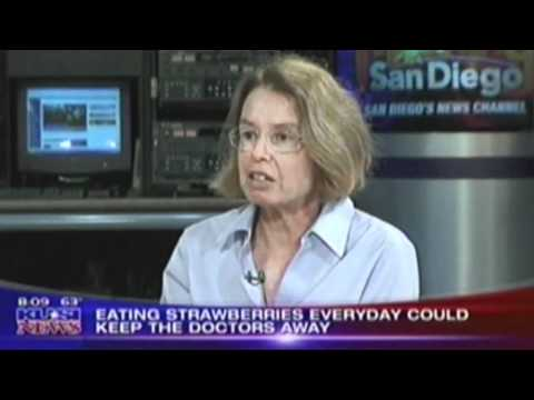 Salk News Clip Eating Strawberries Everyday Can Better Your Health (KUSI)
