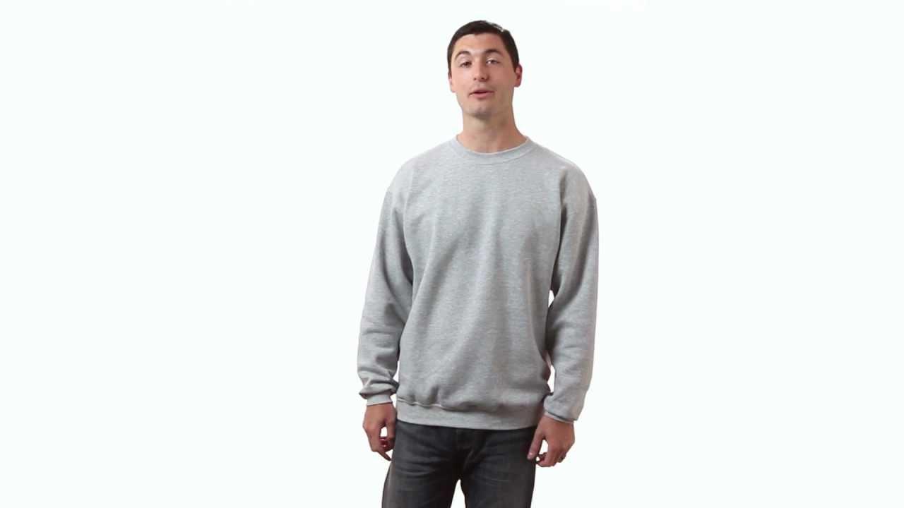 Port & Company Men's 7.8 oz Lightweight Crewneck Sweatshirt - PC78 ...