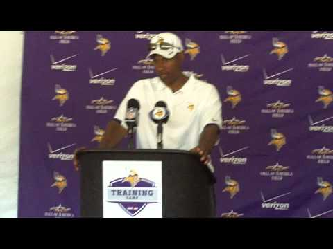 Vikings Training Camp 2012: Head Coach Leslie Frazier 1