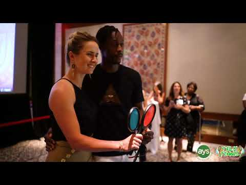 SERVE IT UP Pre-US Open Event With Gael Monfils And Elina Svitolina!