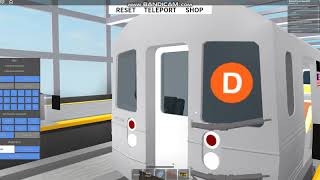 Roblox Subway Testing Remastered: Driving an R68!