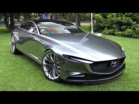Mazda Vision Coup Concept Start Up Sound, Moving Loading Into a Truck