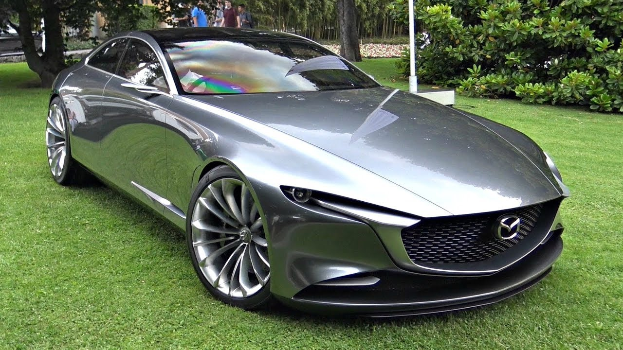 Mazda Vision Coupé Concept Start Up Sound, Moving & Loading Into a Truck!