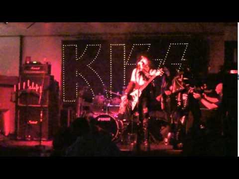 Hotter than Hell   Kiss tribute  club texas 1st nite